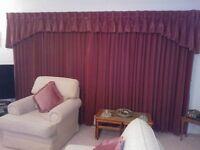 Velvet Curtains.