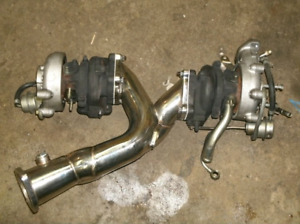 1JZGTE ypipe downpipe for twin turbos