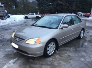 2002 Honda Civic For Sale in Whistler! Winter Tires included
