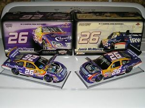 (2) Crown Royal NASCAR 1/24 Scale Diecast Cars  PENDING PICK-UP