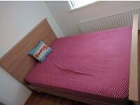 Starplan Kingsize Bed Frame in American Cherry (£150 ONO)