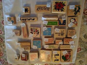 Assorted Christmas-Themed Rubber Stamps - $1.00 and Up Kawartha Lakes Peterborough Area image 4