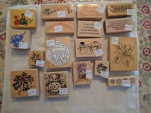 Assorted Christmas-Themed Rubber Stamps - $1.00 and Up Kawartha Lakes Peterborough Area image 7
