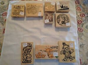 Assorted Christmas-Themed Rubber Stamps - $1.00 and Up Kawartha Lakes Peterborough Area image 9