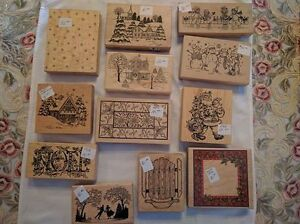 Assorted Christmas-Themed Rubber Stamps - $8.00 and Up Kawartha Lakes Peterborough Area image 3