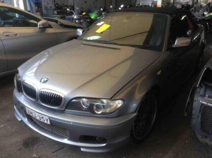 *****2006 BMW 325CI CONV. GREY WRECKING PARTS - B21307 Villawood Bankstown Area Preview