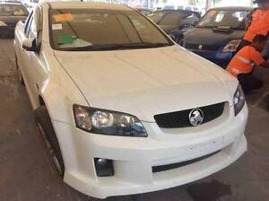 WRECKING HOLDEN COMMODORE VE UTE LLT V6 MANUAL HERON WHITE Kingswood Penrith Area Preview
