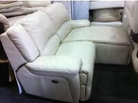 L shape sofa cream