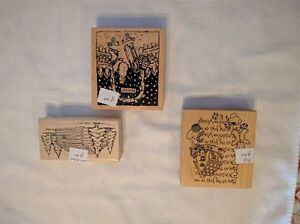 Assorted Christmas-Themed Rubber Stamps - $8.00 and Up Kawartha Lakes Peterborough Area image 2