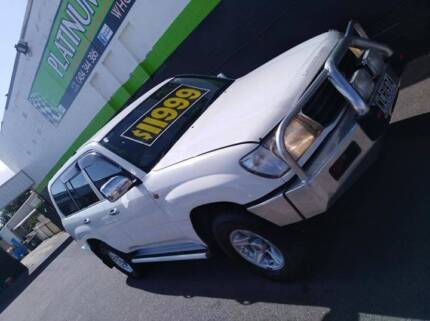 1998 Toyota LandCruiser 100 series GXL Dual fuel Blair Athol Port Adelaide Area Preview