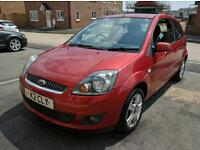 Ford Fiesta 1.25 Zetec Climate, 2007, extremely low milage.