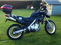 Bmw f650 gs 2001 full mot black