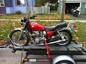 Great motorcycle trailer for sale!