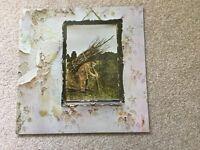 Led Zepplin IV 50 008 1971 Record