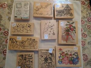 Assorted Christmas-Themed Rubber Stamps - $8.00 and Up Kawartha Lakes Peterborough Area image 5