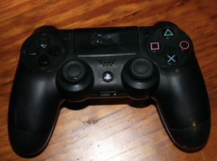 Black Wireless PS4 Controller Great Condition