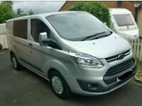 2013 ford transit custom crew bus