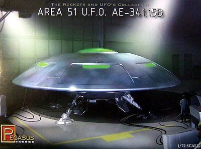 Area 51 UFO AE-341.15B Model Kit