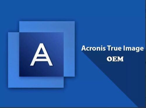 Acronis True Image HD OEM activation key