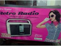 View Quest Retro Radio **brand new boxed***