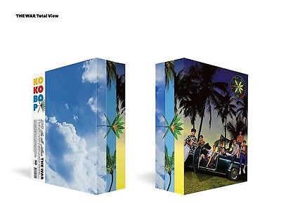 EXO The War (4th Album) KOREAN Ver, Version Select,CD+PhotoBook+Poster