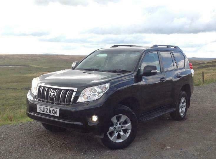 2012 TOYOTA LAND CRUISER PRADO 3 0 D4-D AUTO 4X4 BLACK | in Keighley, West  Yorkshire | Gumtree