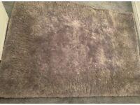 Grey dunelm rug