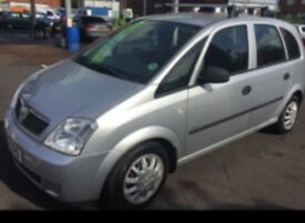 Vauxhall meriva for spares An repairs head gasket going but otherwise in good condition