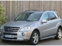 2009 MERCEDES-BENZ ML420 CDI V8 TWIN TURBO DIESEL 4MATIC AUTO - LHD LEFT HAND DRIVE