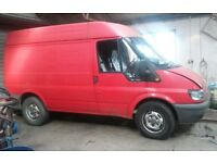 Ford Transit 2.4 TDCI RWD SWB 2004. Non runner due to oil pressure failure""