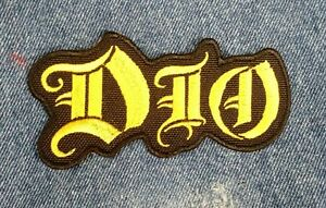 DIO Embroidered Patch Black Sabbath Metal USA Seller Fast Delivery gld