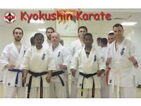 Kyokushin Karate and Japanese Kickboxing for both Adults and children