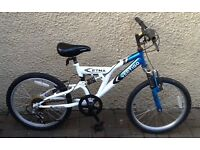 "Bike/Bicycle.BOYS VERTIGO "" ETNA "" MOUNTAIN BIKE. SUIT 6-9 YEARS"