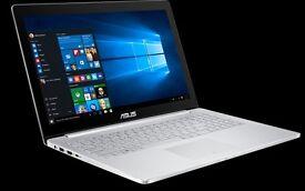 "ASUS Zenbook Pro UX501VW-FJ098T 15.6"" 4K Touchscreen Laptop i7-6700HQ 12GB 512GB"