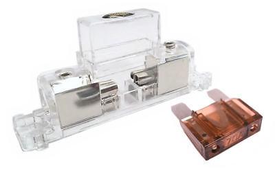 Stinger Inline Fuse Holder MAXI 4 AWG or 8 gauge Input/Output 70 AMP SFB1MAXPT