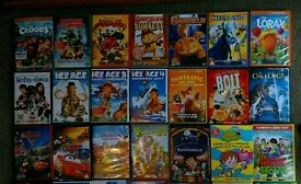 50 Various Children's DVDs