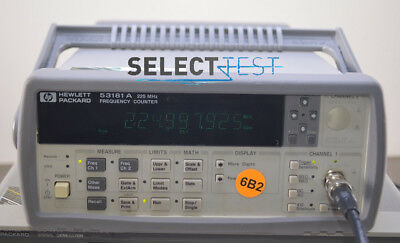 Agilent Hp 53181a Frequency Counter