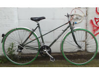 Vintage Ladies racing bike PEUGEOT frame 20in Serviced & warranty - NEW TYRES BRAKES CABLES