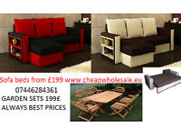 Corner sofa bed/ Sofa bed /double 3 seater sofa BEST PRICES