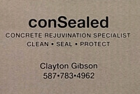Concrete sealing cleaning and care