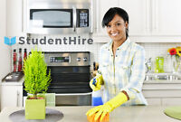 House/business cleaning by StudentHire - You set the price!