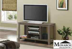Brand NEW Dark Taupe TV Console! Call 306-347-3311!