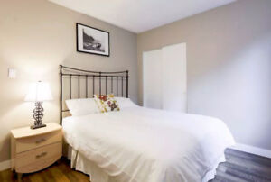 Mission - Fabulous, full-furnished, new reno'd 1 bedroom unit