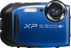 Fujifilm FinePix XP80 Digital Camera (Blue)
