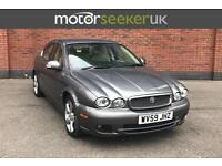 2009 Jaguar X Type 2.0d SE 4dr full dealer history cream leather No deposit ...