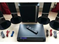 LG HT752TH Home Cinema System 5.1 system, DVD player, HDMI, USB VGC!