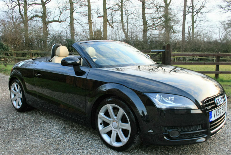 2007 57 audi tt 3 2 v6 quattro 2dr cabriolet roadster. Black Bedroom Furniture Sets. Home Design Ideas