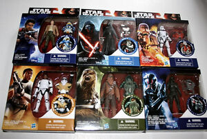 6 2015 Star Wars The Force Awakens Figures