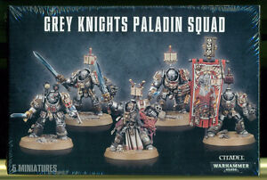 Grey Knights - Paladin Squad New In Box