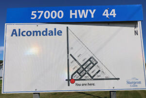 WHAT GREAT VALUE - A Vacant Lot in the Hamlet of Alcomdale